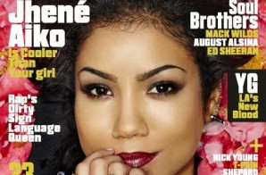 Jhene Aiko Takes Cover #2 of VIBE Magazine's 2014 'Summer Issue' (Photo)