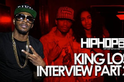 King Los Talks Being On Bad Boy, Advice For Young Artists, Carmen Amare & More With HHS1987