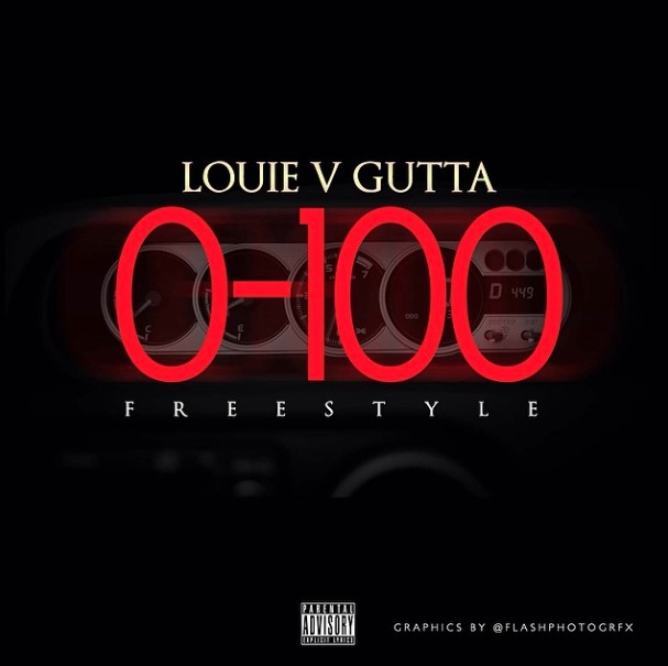louie v gutta 0 to 100 freestyle HipHopSince1987.com 2014 Louie V Gutta   0 to 100 Freestyle