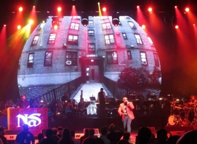 nas radio city 630x461 Nas   NY State of Mind (Live At Dave Chappelles Radio City Show) (Video)
