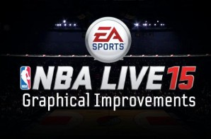 "NBA 2K15 Has Competition? NBA Live 15 New ""Graphical Improvements"" Vlog"