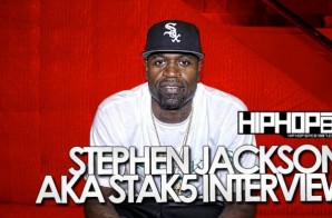"""Stephen Jackson Talks the Spurs 2014 Championship, NBA Free Agency, his album """"My Life Not Yours"""" & More (Video)"""