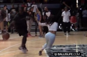 Shake & Bake: Teyana Taylor Gets Embarrassed At The Jordan XX9 Release Event (Video)