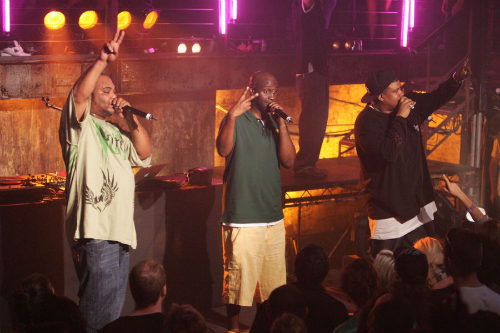 Common_Q-Tip_Join_De_La_Soul_On_Stage_In_NYC