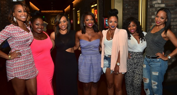 Nikki Nicole Tobey Sanders Carmon Kandi Rasheeda Toya Wright Monyetta Shaw LUCY ATL Premiere Kandi Burruss, Toya Wright, Angel McCouughtry & More Gather for the LUCY Movie Premiere in Atlanta