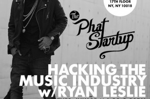 Ryan Leslie Reveals How He Built His Startup