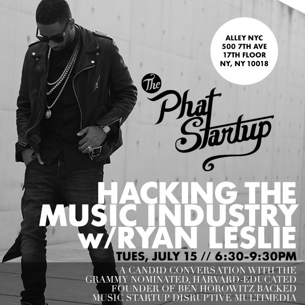 PHAT STARTUP ryan 45925cb6 9f9e 4e29 bce0 aacc7d85dac6 1024x1024 Ryan Leslie Reveals How He Built His Startup