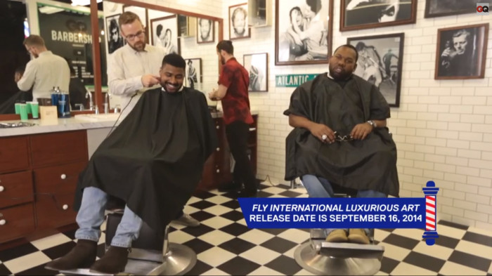 Wu 1 Raekwon Gets A Haircut With GQ (Video)