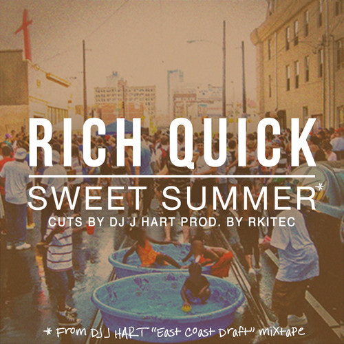 artworks 000086750894 g1zm9p t500x500 DJ J Hart & Rich Quick   Sweet Summer (Prod. By Rkitec)