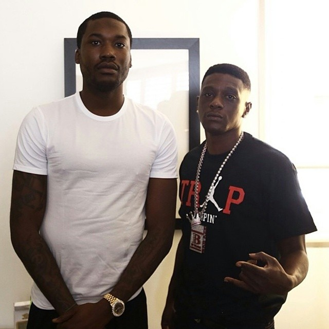 lilboosieXmeekmill Lil Boosies 'Touchdown 2 Cause Hell' LP Has Been Pushed Back To Sept