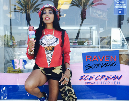 raven sorvino ice cream thumb Raven Sorvino   Ice Cream (Prod. by J Hyphen)