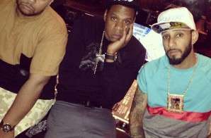 "Jay-Z, Swizz Beatz & Timbaland Record ""Versus"" (Video)"