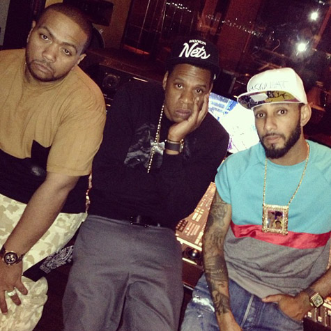 "timbaland jay z swizz1 Jay Z, Swizz Beatz & Timbaland Record ""Versus"" (Video)"