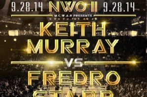 Hip Hop Legends Fredro Starr and Keith Murray Set to Face Off in a Rap Battle at MC WAR Atlanta
