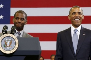 "Chris Paul Teams Up With President Obama in Support of ""My Brother's Keeper"""