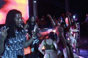 Watch Waka Flocka Perform A Unreleased Diplo Song & More At Governor's Island w/ Borgore (Video)