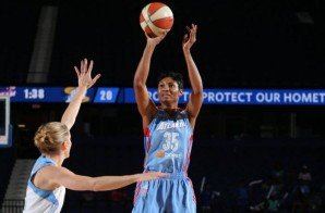 Angel McCoughtry Drops 39 Points To Keep Her Atlanta Dream WNBA Title Hopes Alive