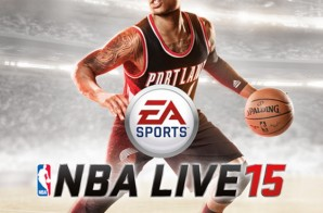 Portland Trailblazers Star Damian Lillard Covers NBA Live 2015