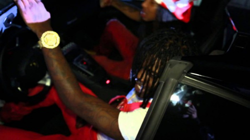 Chief_Keef_Superman_ASAP_Rocky_Glo_Gang_BTS_Video