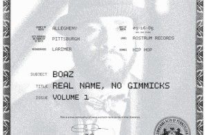 Boaz – Real Name No Gimmicks