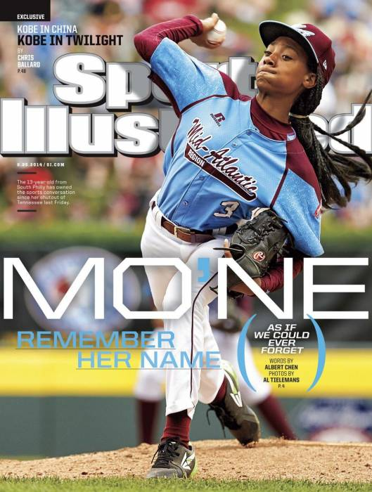 MoneDavisCover MoNe Davis Graces The Cover Of Sports Illustrated
