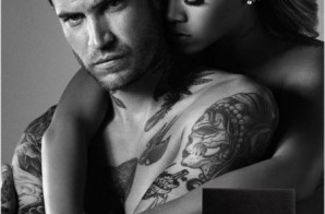 Rihanna Goes Topless For New Men's Fragrance Ad (Photos)