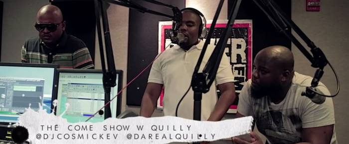 quilly 22 minute come up show freestyle video HHS1987 2014 Quilly   22 Minute Come Up Show Freestyle (Video)
