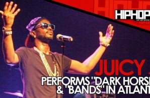 "Juicy J Performs ""Dark Horse"" & ""Bands"" During The Muddy Water & Colt 45 Concert (Video)"