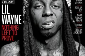 XXL Chooses Lil Wayne To Cover Its August/ September 2014 Issue
