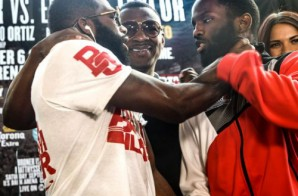 Adrien Broner Chokes Emanuel Taylor During Press Conferenc