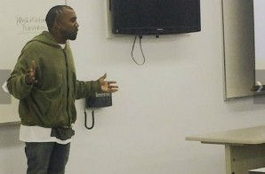 Kanye West Teaching Fashion Students For Community Service Hours (Photos)