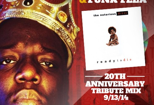 Mister Cee & Funk Flex – Ready To Die 20th Anniversary Tribute Mix