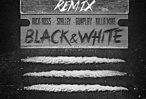 Rick Ross – BLK & WHT (Remix) Ft. Stalley, Gunplay & Killer Mike