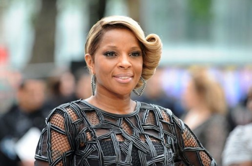 Mary J. Blige Works On New Album In The UK