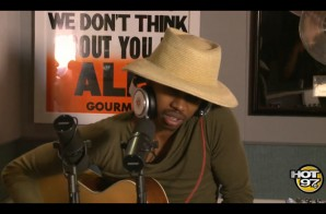 """Raury Covers Kanye West's """"Blood On The Leaves"""" With Ebro In The Morning (Video)"""