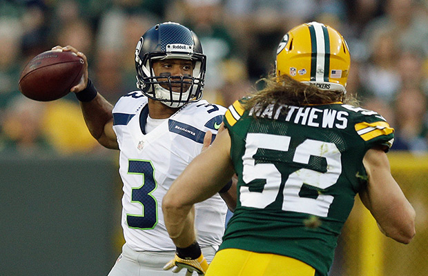WP SeahawksRussellWilson 2014 NFL Kickoff: Green Bay Packers vs. Seattle Seahawks (Predictions)
