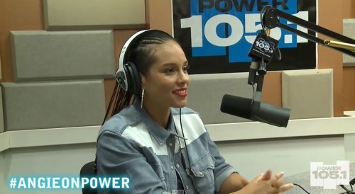 Alicia Keys Talks Being Pregnant Again, 'We Are Here' Single & More w/ Angie Martinez (Video)