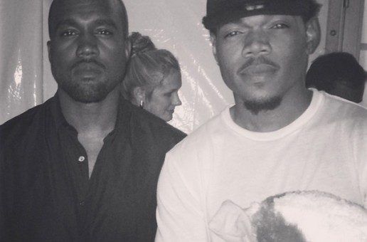 Chance The Rapper Meets Kanye West at 'Made In America' Festival
