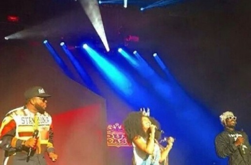 "Erykah Badu Joins Outkast In Atlanta To Perform ""Humble Mumble"" (Video)"