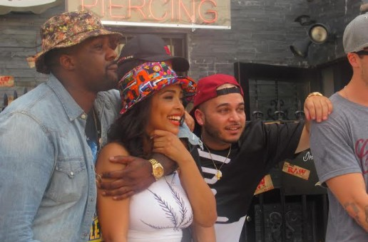 CJ Fly, Nitty Scott MC, Chris Webby & Smoke DZA – Raw Cypher 3 (Video)
