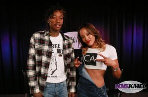 Wiz Khalifa Talks New Line of Smoking Products, Being Held At Gunpoint & More w/ 106KMEL (Video)