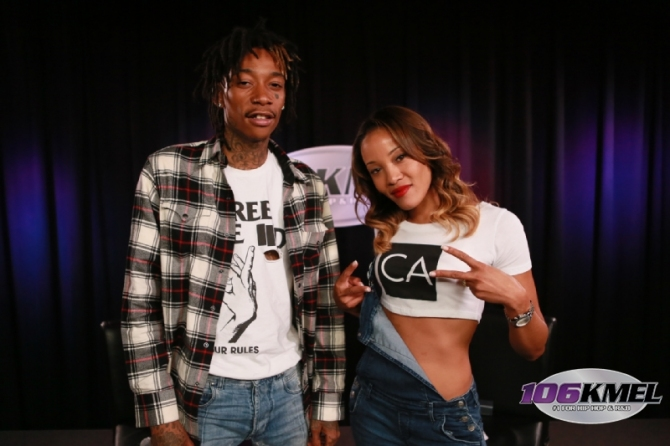 thumbNew Wiz Khalifa Talks New Line of Smoking Products, Being Held At Gunpoint & More w/ 106KMEL (Video)