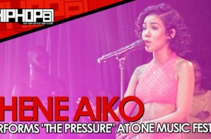 "Jhene Aiko Performs ""The Pressure"" At One Music Fest In Atlanta (Video)"