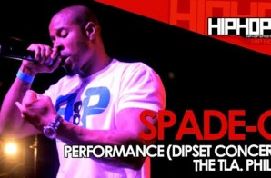 Spade-O Performs At The TLA In Philly (09/21/14) (Video)