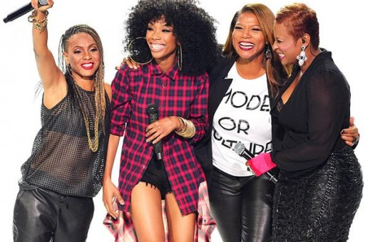 Brandy, MC Lyte, Yo-Yo & Queen Latifah – I Wanna Be Down (Live At 2014 BET Hip Hop Awards) (Video)