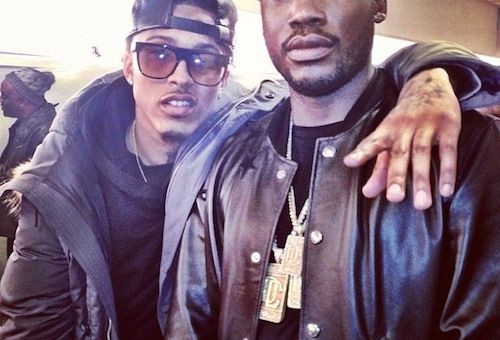 Meek Mill Calls August Alsina From Prison To Keep His Fans Updated (Video)