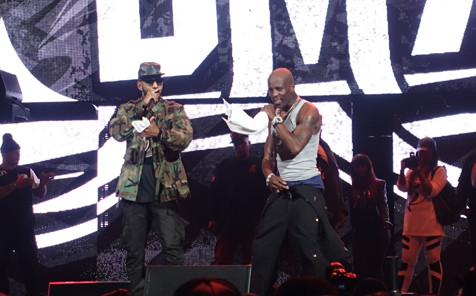 Swizz Beatz Joins DMX At Def Jam 30 Concert (Video) (Filmed By Nigel D.)