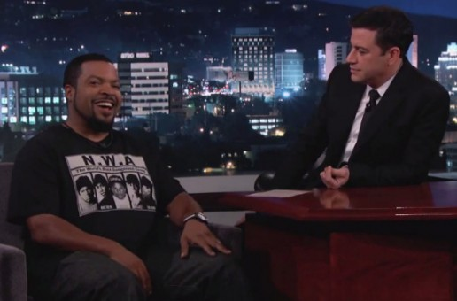 Ice Cube Discusses Upcoming N.W.A. Movie & More On Jimmy Kimmel Live (Video)