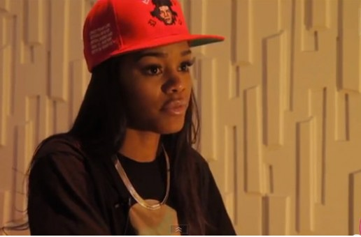 Teyana Taylor Talks Debut Album 'VII', Working With Chris Brown, & More With Karen Civil (Video)