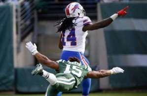 A Little Too Soon: Bills WR Sammy Watkins Get Tackled Celebrates A Touchdown Before Reaching The End Zone (Video)